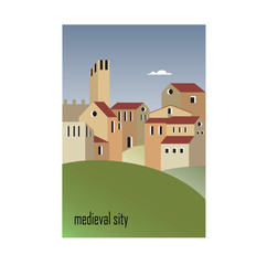 houses of the medieval city