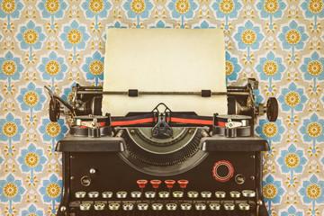 Retro styled image of an old typewriter