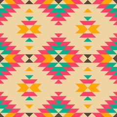 Native american style seamless pattern