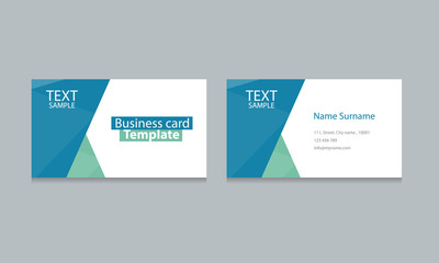 business card template design backgrounds .vector eps 10 editable