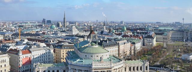 Wall Mural - Panorama Altstadt Wien