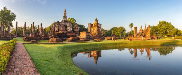 panorama of Sukothai Historical Park - Thailand