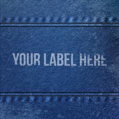 Realistic Denim blue Cloth Texture