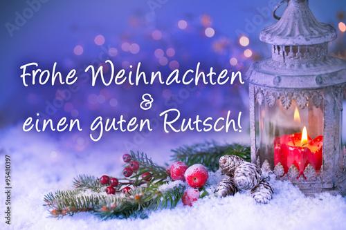 weihnachtskarte frohe weihnachten und einen guten rutsch stockfotos und lizenzfreie bilder