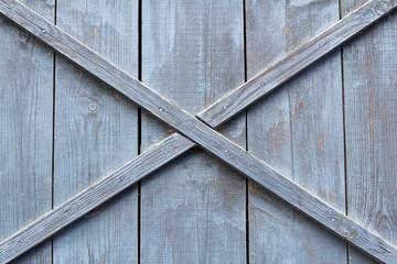 blue wooden barn door background