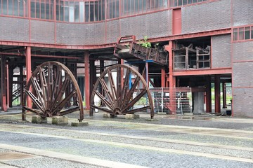 Zollverein in Essen, Germany. Industrial UNESCO World Heritage Site.