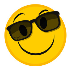 smiley sonnenbrille