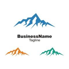 Mount logo icon vector