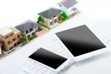 住宅販売 タブレット スマートフォン