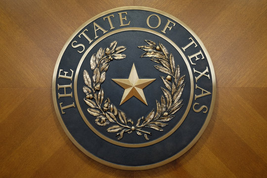Official State Of Texas Seal