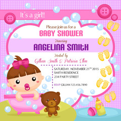 Babies in Action Invitation