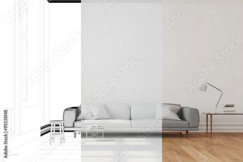 Entwicklung von wohnzimmer im raumplaner stockfotos und for Wohnzimmer raumplaner