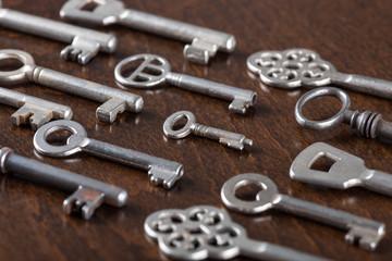 Aligned old keys