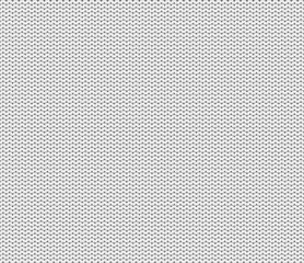 Seamless knitted white background. Color white, light gray. Wrong side of. Vektor.