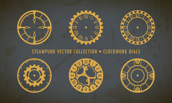 Steampunk Collection - Clockwork Dials