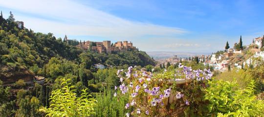 Grenade / Alhambra vu de Sacromonte - Espagne