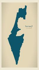 Modern Map - Israel IL