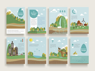 lovely brochure template