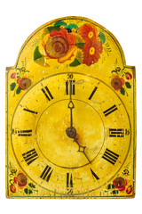 Genuine ornamental seventeenth century clock