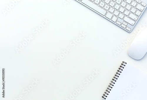 white table top view. Office White Desk Top View With Business And Every Day Life Items Electronics Image Of Table 1