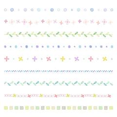 手描き ラインセット / vector eps 10