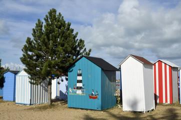 Cabane plage, Saint Denis d'Oléron, Ile d'Oléron, Charente Maritime, 17