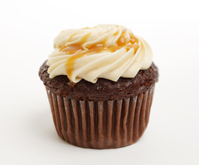 Chocolate Isolated Cupcake