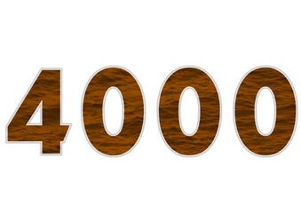 4000 sayısı