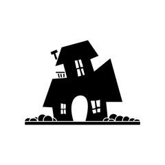 Halloween silhouette icon
