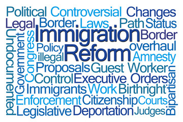 Immigration Reform Word Cloud