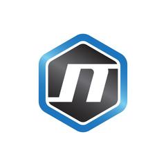 N Hexagonal Logo