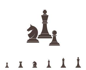 Chess. Silhouette
