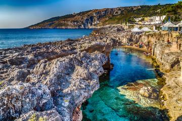 Sea natural pool