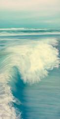 Fototapete - Vertical Wave Seascape