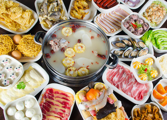 Delicious steamboat meals