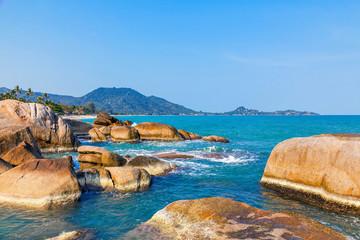 Panorama of Koh Samui in Thailand