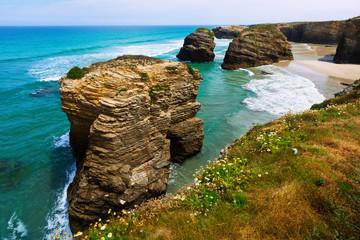 Cliffs at Cantabric coast