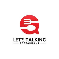 Lets Talking Restaurant logo icon