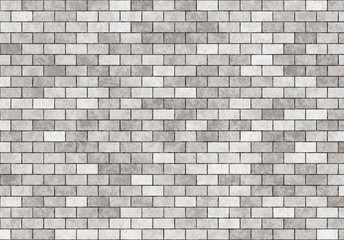 hi-res grey small brick wall pattern