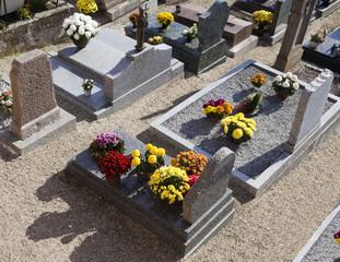 Foto auf Leinwand Friedhof CIMETIÈRE