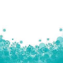 Christmas and New Year abstract vector background