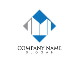 Building tower logo
