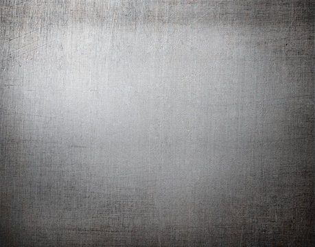 metal background or texture with scratches