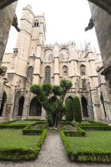 Narbonne (France), cathedral cloister