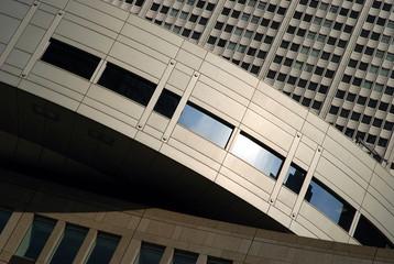 Modern Architecture in Shinjuku, Tokyo, Japan