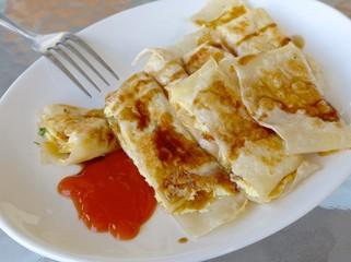 Taiwan omelet