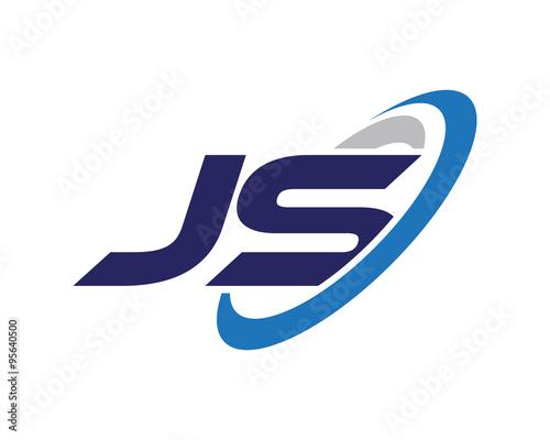 quot js letter swoosh media technology logo quot  stock image and Nike Swoosh Vector Swoosh Vector Art
