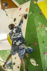 Kletterer / Boulderer