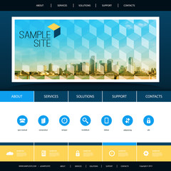 Website Design for Your Business with Miami Skyline Background