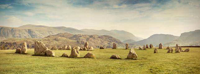 Castlerigg stone circle, Lake District, UK